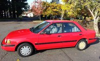 Picture of 1991 Mazda Protege 4 Dr DX Sedan, exterior