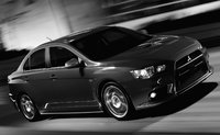 2015 Mitsubishi Lancer Evolution, Front-quarter view, exterior, manufacturer