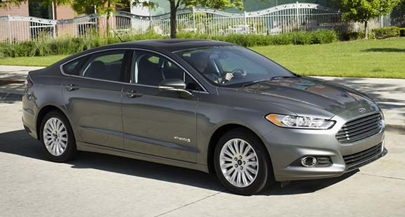 Ford Fusion Rental Car Size