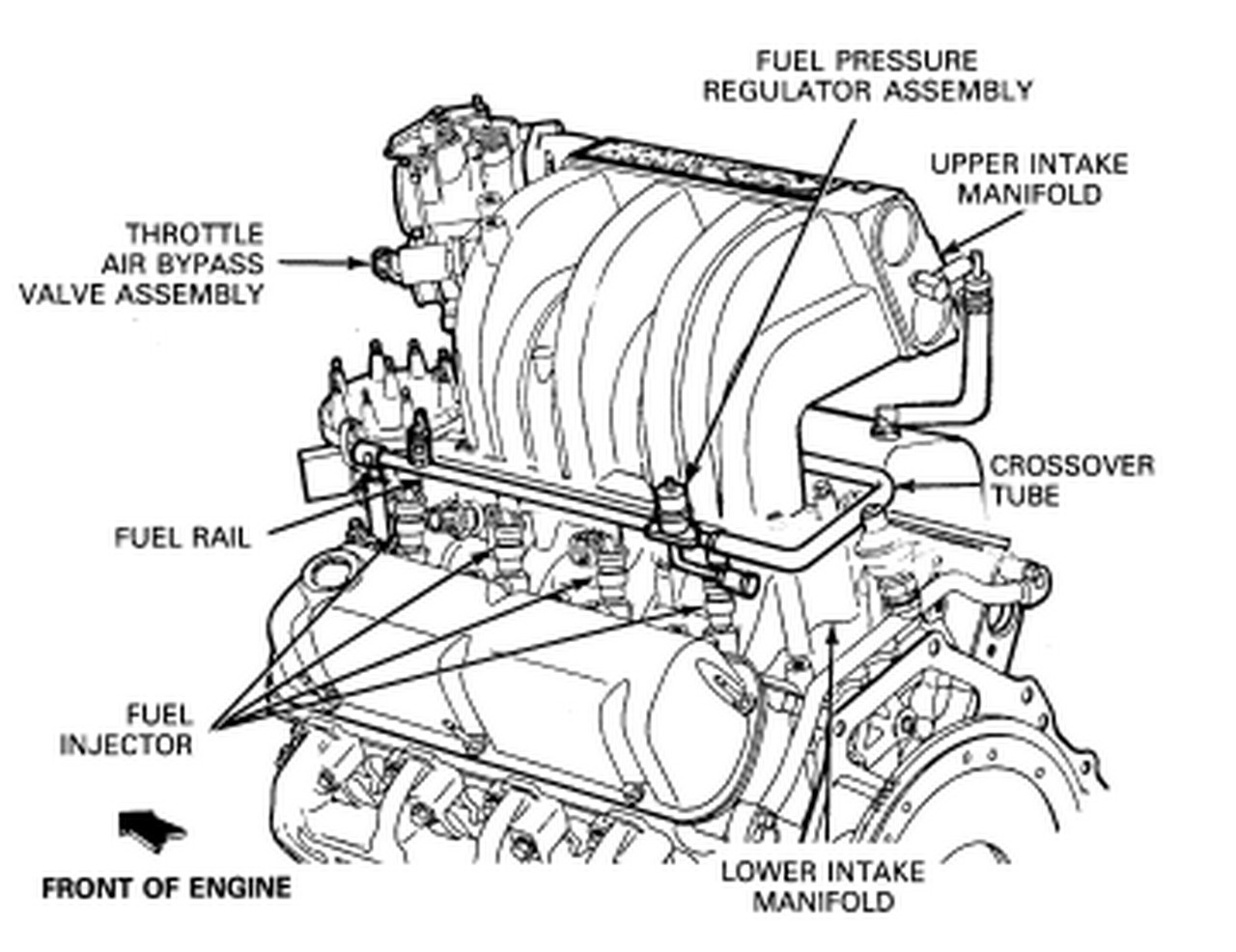 97 ford explorer fuel filter diagram