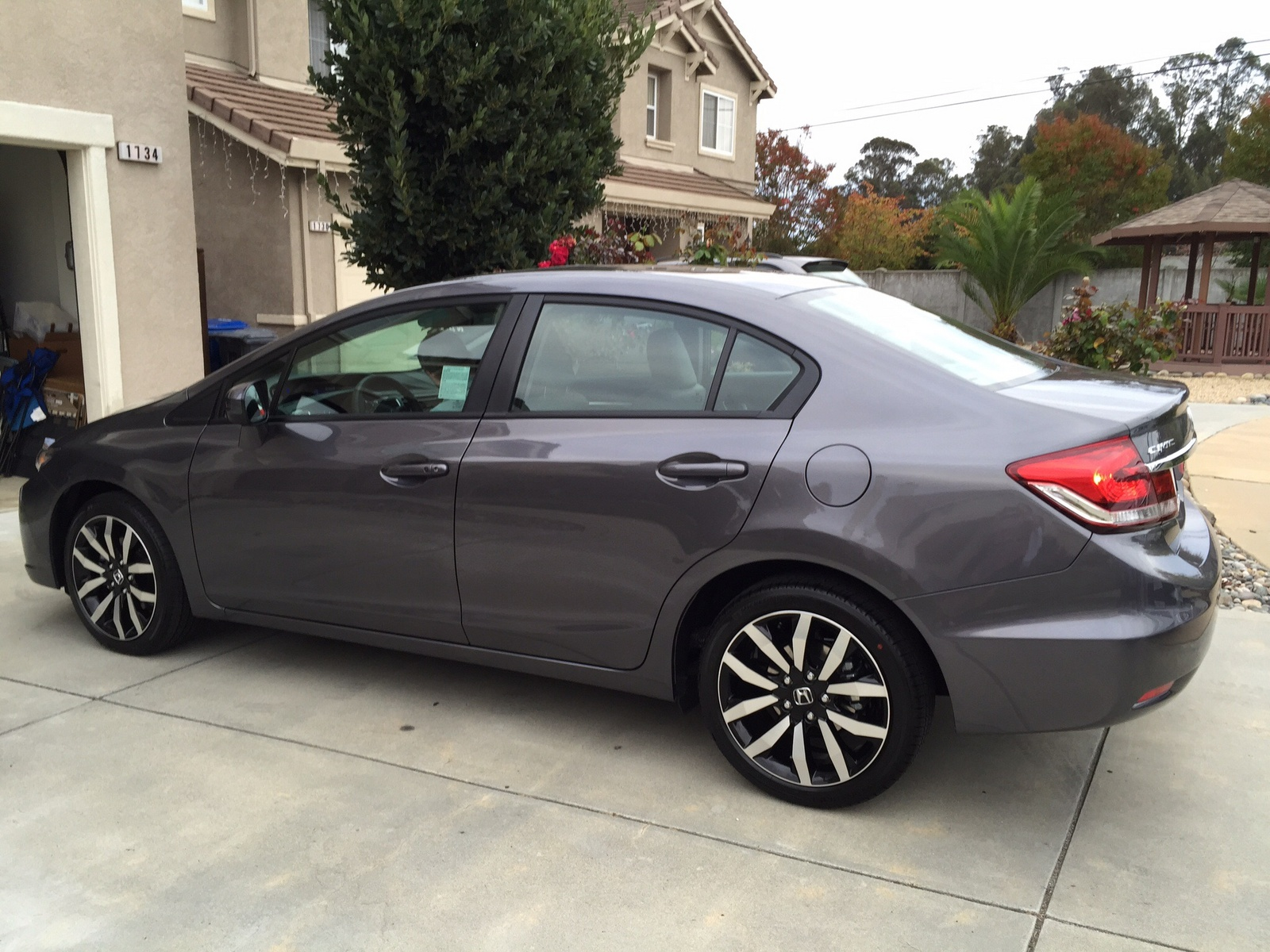 Picture of 2015 Honda Civic EX-L