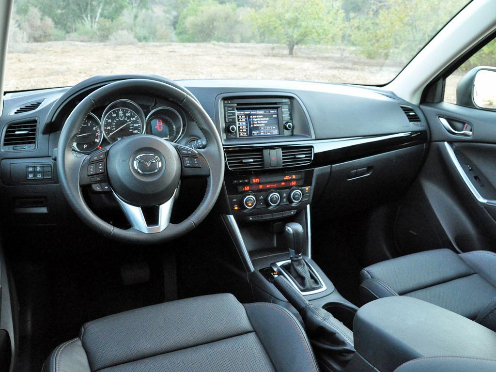 2015 Mazda CX-5 Grand Touring, interior