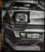 1988 Chrysler Conquest TSi, sleeping with one eye open