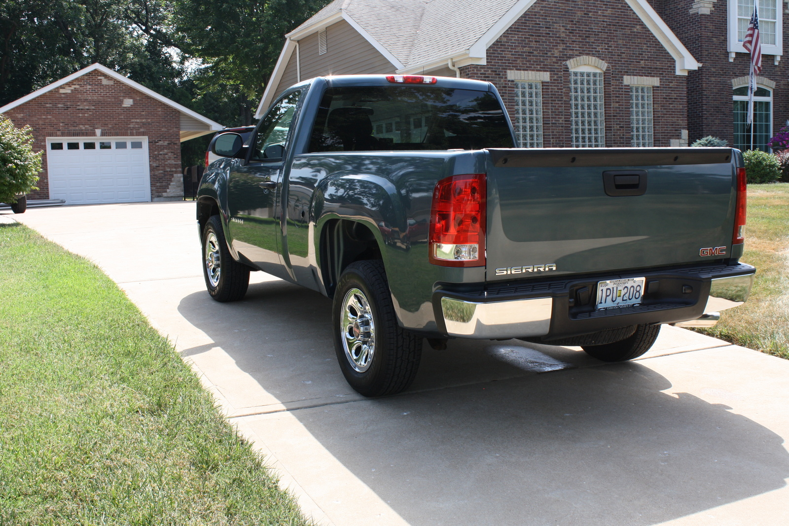 picture of 2010 gmc sierra 1500 work truck exterior. Black Bedroom Furniture Sets. Home Design Ideas