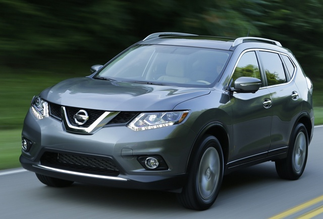 2015 Nissan Rogue, Front-quarter view, exterior, manufacturer, gallery_worthy