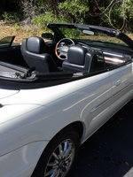 Picture of 2003 Chrysler Sebring Limited Convertible, interior