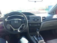 Picture of 2012 Honda Civic Coupe LX, interior