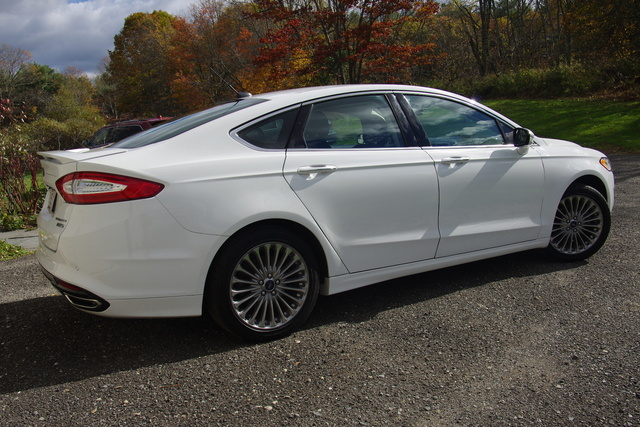 picture of 2014 ford fusion titanium exterior. Cars Review. Best American Auto & Cars Review