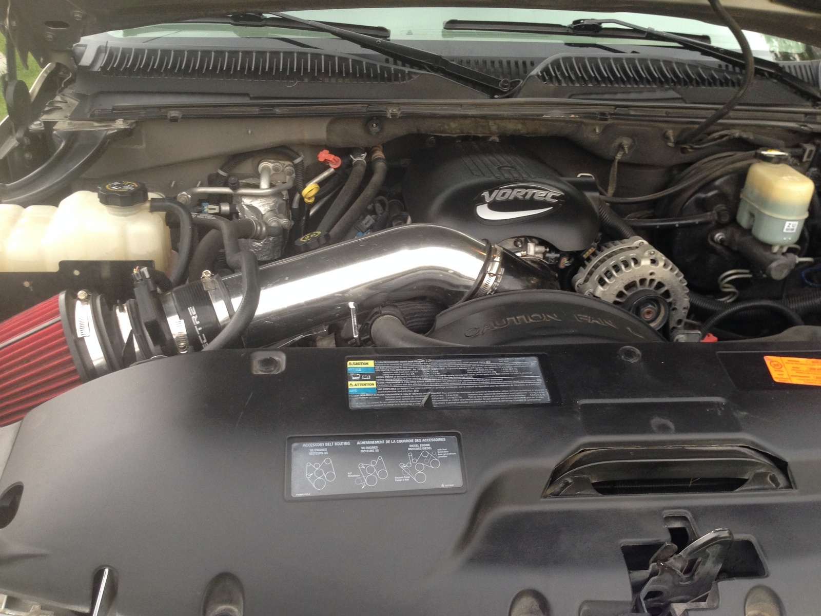 Chevrolet Suburban Questions - lightly washed engine on my