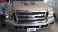 2005 Ford Excursion XLT, hood scoops, exterior
