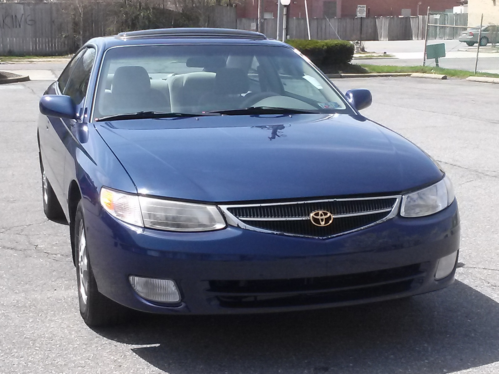 picture of 2001 toyota camry solara se exterior. Black Bedroom Furniture Sets. Home Design Ideas