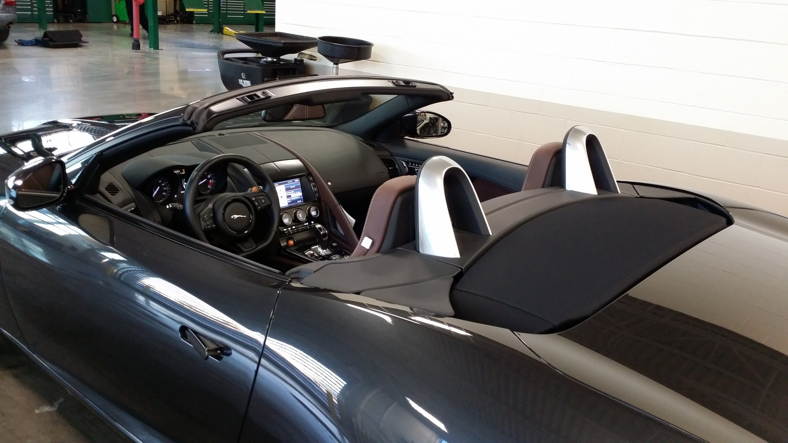 picture of 2014 jaguar f type s convertible interior. Cars Review. Best American Auto & Cars Review