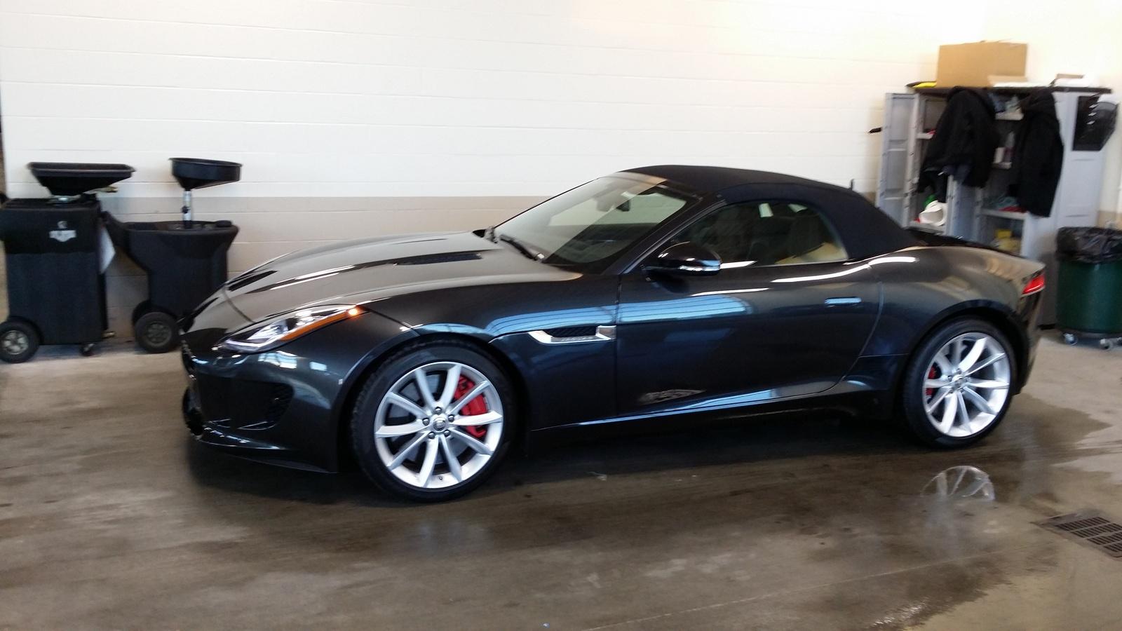 picture of 2014 jaguar f type s convertible exterior. Cars Review. Best American Auto & Cars Review