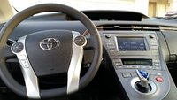Picture of 2012 Toyota Prius Three, interior, gallery_worthy