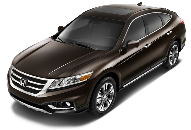 2015 Honda Crosstour, Front-quarter view, exterior, manufacturer, gallery_worthy