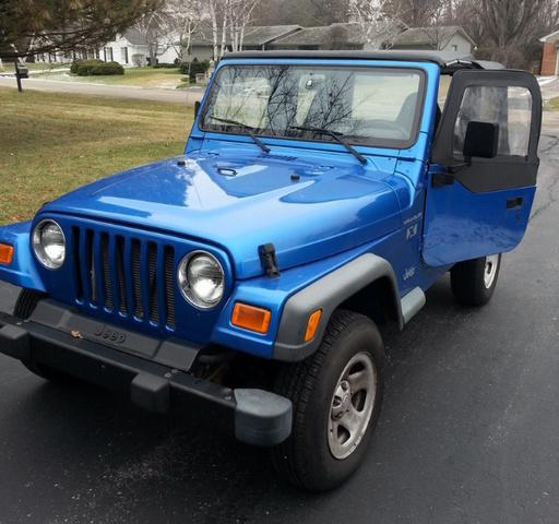 2002 Jeep Liberty Exterior: 2002 Jeep Wrangler