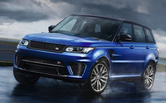 2015 Land Rover Range Rover Sport, Front-quarter view, exterior, manufacturer, gallery_worthy