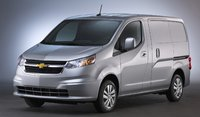 2015 Chevrolet City Express, Front-quarter view. Copyright General Motors, exterior, manufacturer