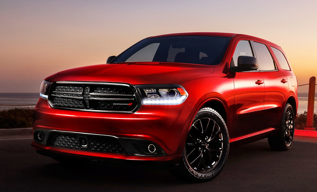 2015 Dodge Durango, Front-quarter view, exterior, manufacturer, gallery_worthy