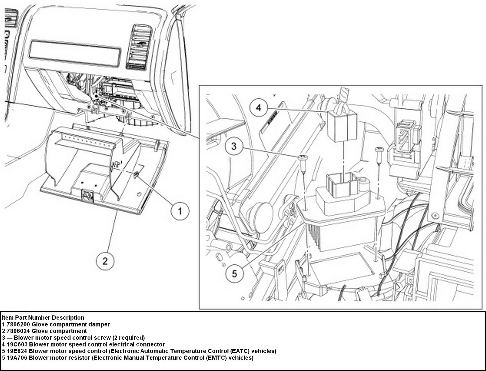 2006 Ford Focus Hvac Diagram Wiring Diagrams Instructions 2012 Compartment Fuse Box Interior Edge Questions How Do You Remove And Replaceinstall A Blower