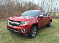 2015 Chevrolet Colorado, Front-quarter view, exterior