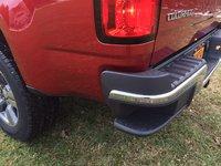 Rear bumper step