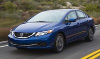 2015 Honda Civic, Front-quarter view, exterior, manufacturer