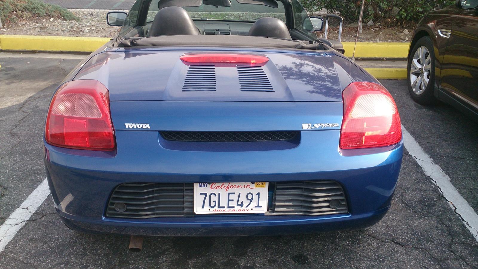 2002 Toyota MR2 Spyder