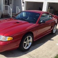 1996 Ford Mustang SVT Cobra Overview