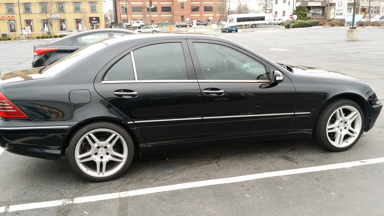 Picture of 2003 mercedes benz c class 4 dr c320 sedan for Mercedes benz e class 2003 price