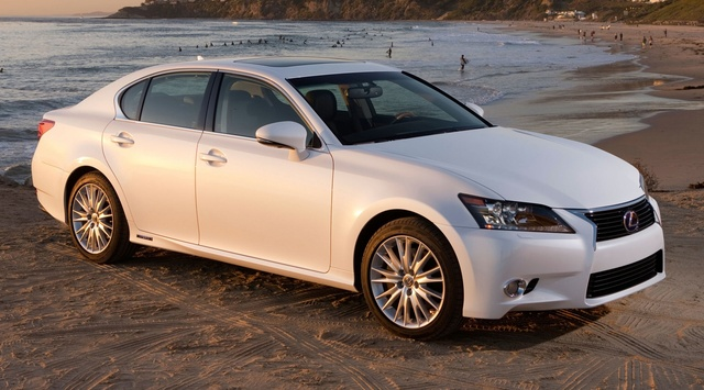 2015 Lexus GS 450h, Front-quarter view, exterior, manufacturer, gallery_worthy