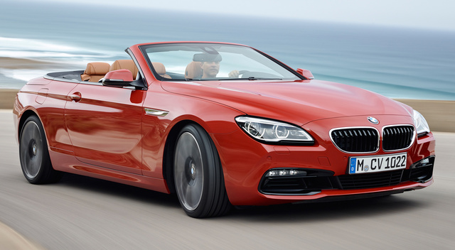 2015 BMW 6 Series, Front-quarter view, exterior, manufacturer
