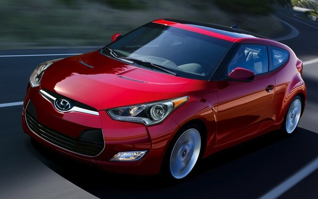 2015 Hyundai Veloster, Front-quarter view, exterior, manufacturer, gallery_worthy