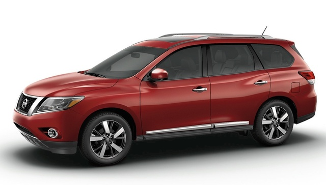 2015 Nissan Pathfinder, Front-quarter view, exterior, manufacturer, gallery_worthy
