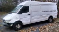 2004 Dodge Sprinter, Cargo partition is 144 inches long, 60 inches width, 70 inches tall and has two metal frames with strap holders installed into floor. You can load 3 standard skids and fix it with...