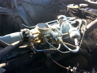 1961 Mercury Comet, 1961 Comet Carburetor, engine