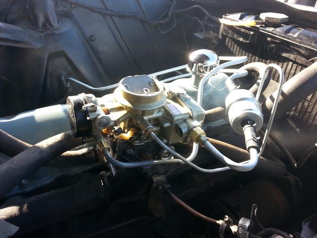 1961 Mercury Comet, 1961 Comet Carburetor, engine, gallery_worthy
