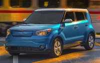 2015 Kia Soul EV, Front-quarter view, exterior, manufacturer, gallery_worthy