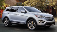 2015 Hyundai Santa Fe, Front-quarter view, exterior, manufacturer, gallery_worthy