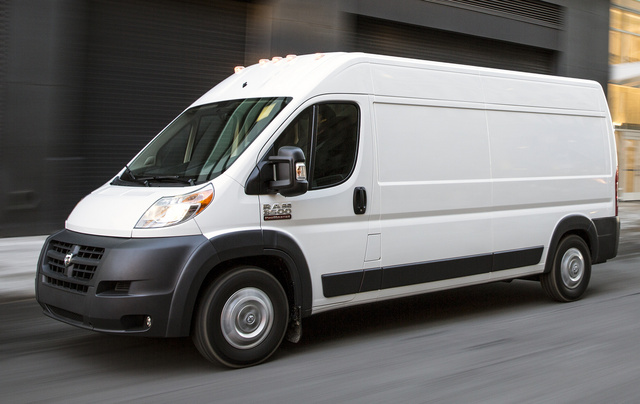 2015 Ram ProMaster, Front-quarter view, exterior, manufacturer, gallery_worthy