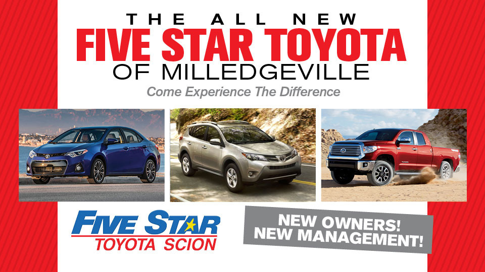 five star toyota of milledgeville milledgeville ga read consumer reviews browse used and. Black Bedroom Furniture Sets. Home Design Ideas
