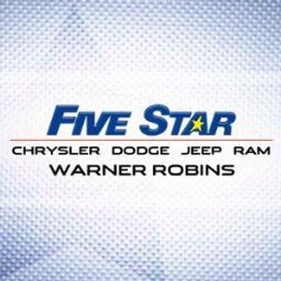Five Star Chrysler Jeep Dodge Ram Warner - Warner Robins, GA: Read