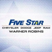 Five Star Chrysler Jeep Dodge Ram Warner logo