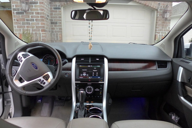 Picture Of  Ford Edge Limited Interior Gallery_worthy
