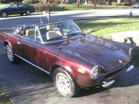 1981 FIAT 124 Spider Overview