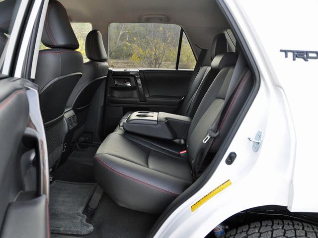 2015 Toyota 4Runner TRD Pro 4WD, 2015 Toyota 4Runner TRD Pro Series Black SofTex Rear Seats, interior, gallery_worthy