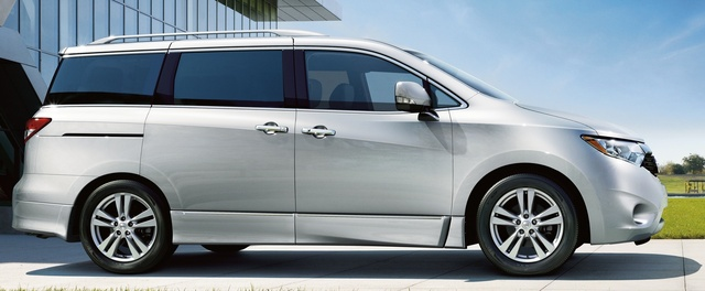 2015 Nissan Quest, Profile view, exterior, manufacturer, gallery_worthy