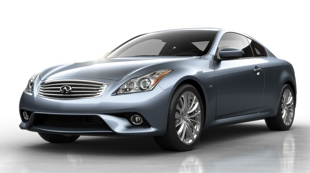 2015 INFINITI Q60, Front-quarter view, exterior, manufacturer, gallery_worthy