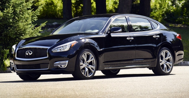 2015 INFINITI Q70L, Front quarter view, exterior, manufacturer, gallery_worthy
