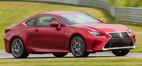 2015 Lexus RC F, Front-quarter view, exterior, manufacturer, gallery_worthy